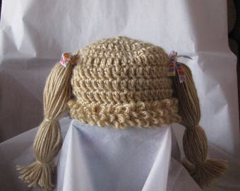 Cabbage Patch Style Baby Hat