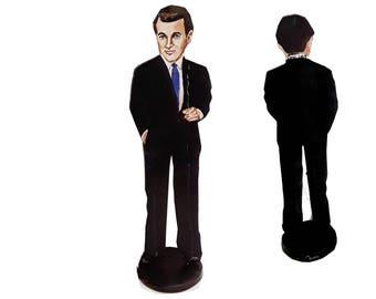 Rock Hudson 2D Art Figurine
