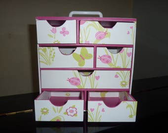 seven drawers storage box