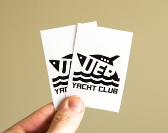 JOIN the YACHT CLUB - Clear