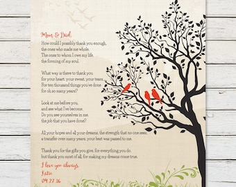 GIFTS for PARENTS, Gifts for Parents from Kids, Gifts for Mom and Dad, Personalized Gift for Mom and Dad, Thank You Gift for Parents