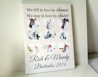 Valentine's day girlfriend homemade anniversary personalised gift love quote wife print cartoon couple