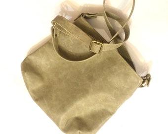 Сrossbody bag, Small olive leather bag, Cross Body Case, small crossbody olive, evening bag