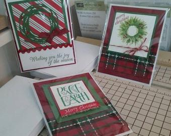 Varied Christmas cards