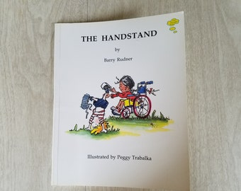 "Vintage Childrens Book ""The Handstand"" by Barry Rudner"