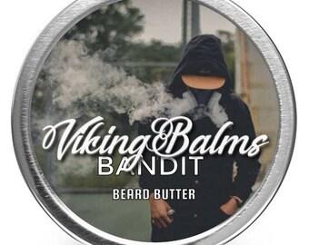 Viking Balms - Bandit - All Natural Beard Butter - 2oz