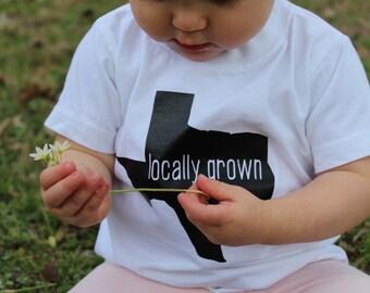 Locally Grown raglan/tee/onesie