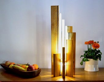 Lamp to put, wooden, high-end, lighting LED: ARAVA