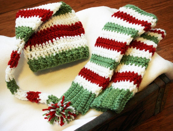 Christmas Leg Warmers Baby, Christmas Elf Costume, Baby Elf Costume Boy Girl, Newborn Elf Costume Boy Girl, Toddler Elf Costume Boy Girl
