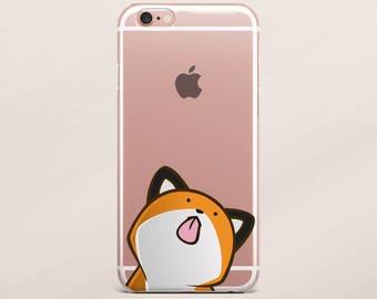 Cute Fox iPhone 7 Plus Cover Samsung S7 S6 S5 iPhone 7 Case iPhone SE Case iPhone 6s Case Animals iPhone 6 Plus Case Rubber Case Silicone