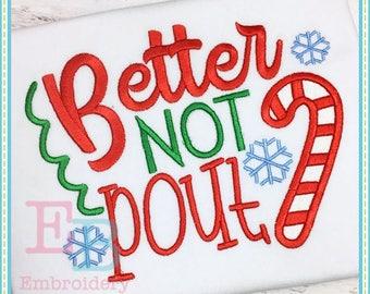 Better Not Pout       Onesie/Shirt
