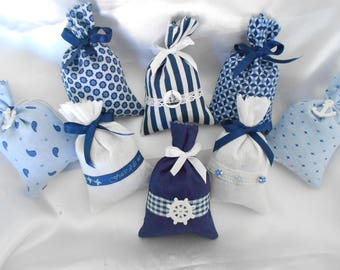 Lavender filled SACHET - Collection South - shades of blue (Ref 15-17)