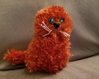 Orange Kitty Amigurumi