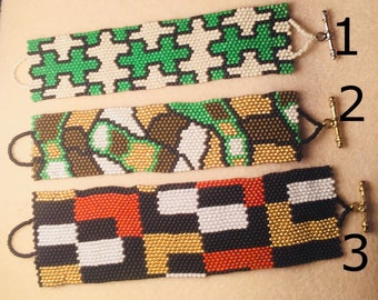 Beaded bracelets ***choose which number you would like*****