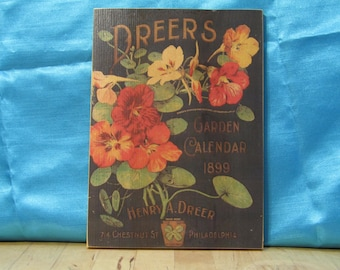 Dreers seed Packet