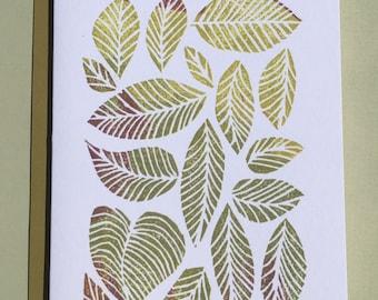 Leaves, Leaves, Leaves Note Card