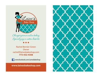 Business Cards Custom Template, Creative Business Cards Double Sided For Boutiques, Shop Owners, Jewelry Marketing