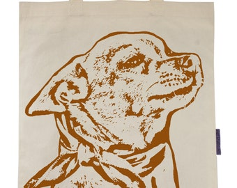 Lily the Chihuahua - Eco-Friendly Tote Bag