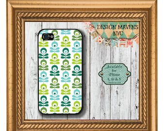 Floral iPhone Case, Geometric Phone  Case, Spring iPhone Case, iPhone 7, 7 Plus, iPhone 6, 6s, 6 Plus, SE, iPhone 5, 5s, 5c, 4s, 4
