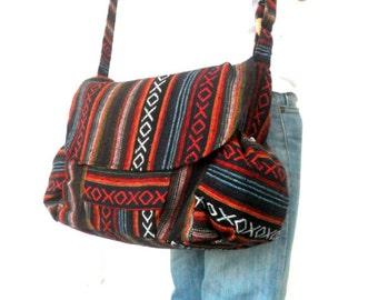 Crossbody Bag, Shoulder bag, Messenger Bag, Ethnic bag, Hippie Bag, Tote bag, Purse, boho Bag, Hobo Bag, Thai Bag Everyday Bag, Gift Bag