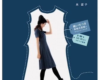 It makes you look Slim !! Sewing Book Craft Pattern Book Japanese
