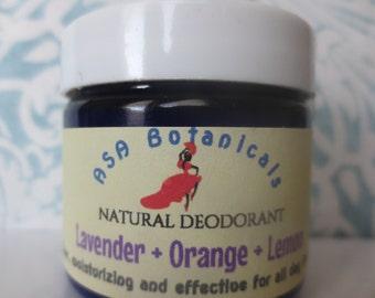 ASA Botanicals Natural Deodorant - Lavender Citrus cream deodorant