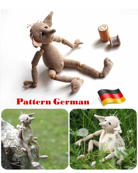 Muster Häkelns, Deutsch häkeln Tutorial, Hässliches Geschöpf, Harry ...