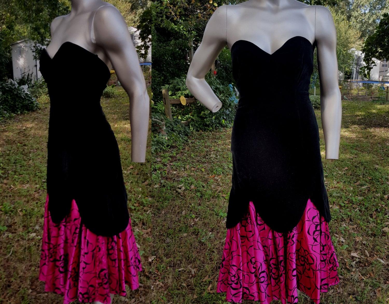 80s Prom Dress Bridesmaid Dress Vintage Dress 80s Dress