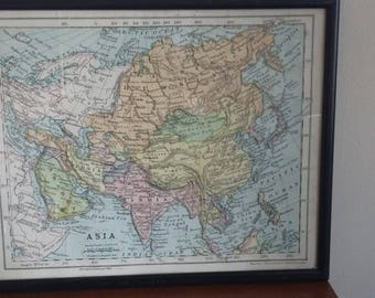 World map vintage etsy uk vintage braille tactile topographical map atlas world map gumiabroncs