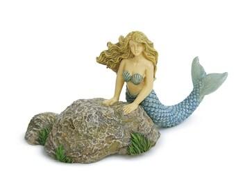Tidal Pool Mermaid - Miniature Fairy Garden Supply