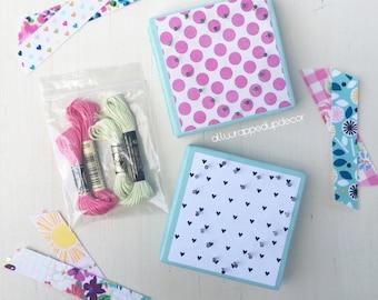Heart string art kitstring art kit diy kit valentines day made to order mini heart string art kit do it yourself kit string solutioingenieria Images