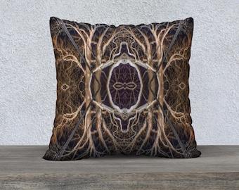 """00562-b 22""""x22"""" Velveteen Pillow Cover"""