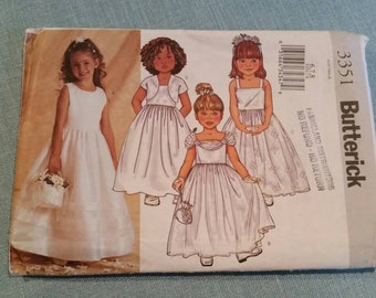 Butterick 3351chikdrens/girls jacket and dress