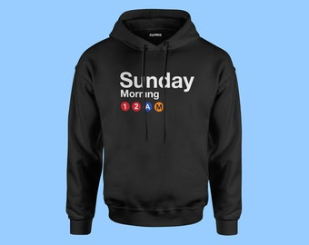 Quirkie/Manhattan/New York/New York Gifts/5th avenue/Streetwear/Mens Hoodies/Gifts for Him/QRKE/NY/Subway/Broadway/Times Square/Fashion/2018