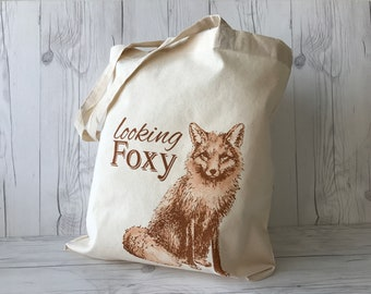 Looking Foxy Tote Bag