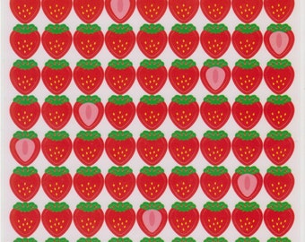Strawberry Stickers - Japanese Stickers - Reference C6170A6370–71