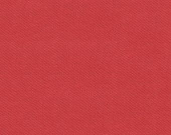 "Chili Red Twill Cloth 60"" Wide By The Yard 7oz"