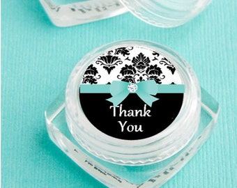 Lip Balm Bridal Shower Favor - personalized- bridal shower favor, bridesmaid gift - set of 12