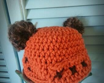 Crochet Ewok Hat