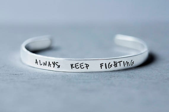 Always Keep Fighting Jewelry Supernatural Jewelry Jared