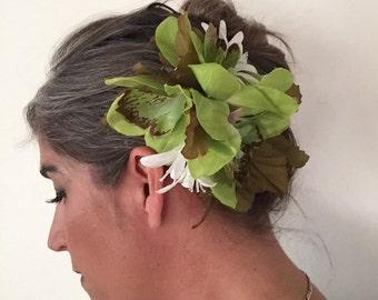 Beautiful Hair Flower Adornment