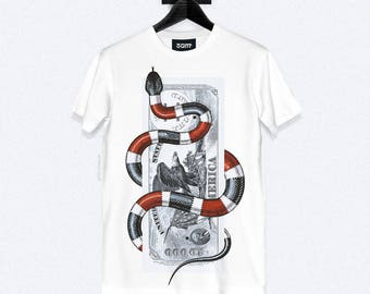 Serpant T-Shirt - Dye Sublimation - Unisex Streetwear - XS, S, M, L, XL, XXL | Made to Order |
