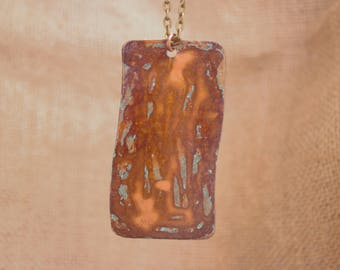 Shades of Copper Copper Necklace