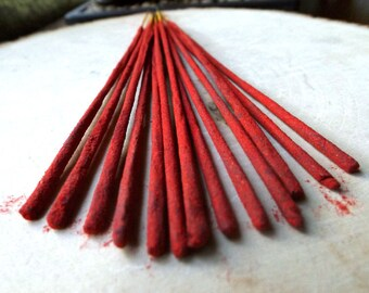 SUPERSTITION Incense Sticks - Meditation Incense, Yoga Incense, Prayer Incense, Ritual Incense, Wicca, Wiccan, Witchcraft, Witch, gift idea