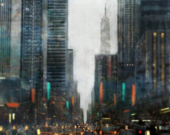 Rainy NYC 02: Giclee Fine Art Print 13X19
