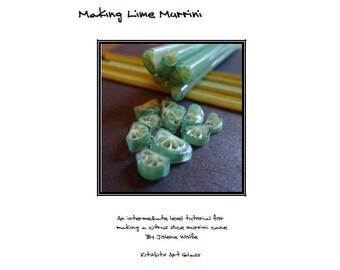 Making Lime Murrini pdf lampwork tutorial