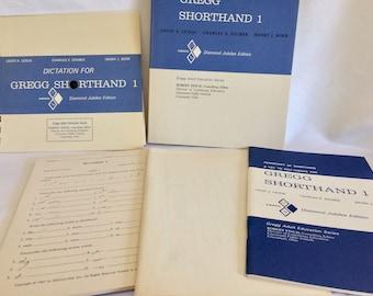 1965 Gregg Shorthand 1 Text-Kit