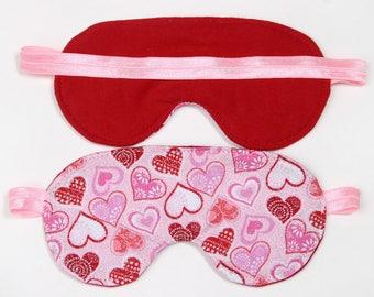 Heart Sleeping Eye Mask party favor