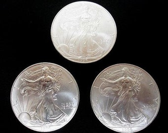 1996 Silver American Eagle Coin