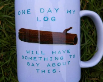 Log lady, twin peaks, sale, second, seconds, gift ideas